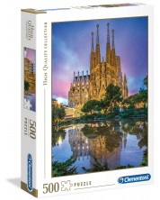 Puzzle Clementoni de 500 piese - Barcelona