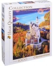 Puzzle Clementoni de 1000 piese - Castelul Neuschwanstein, Germania