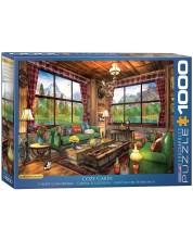 Puzzle Eurographics de 1000 piese - Casuta confortabila, Dominic Davison -1