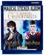Panini Fantastic Beasts: The Crimes of Grindelwald - Pachet cu 5 buc. stickere -1
