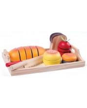 Set produse de taiat Woody - Mic dejun -1