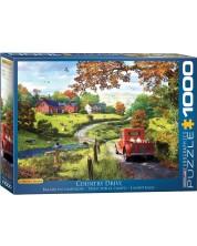 Puzzle Eurographics de 1000 piese - Plimbare in provincia, Dominic Davison