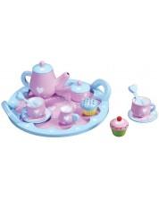 Set de servit ceai Lelin - Inimi -1