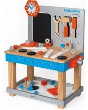 Masa de lucru magnetica din lemn Janod - Brico Kids Diy -1