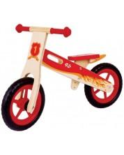 Bicicleta de balans din lemn Bigjigs - Rosie -1