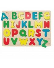 Puzzle din lemn Woody - Alfabetul englez -1