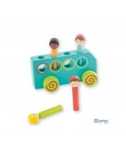 Jucarie din lemn Andreu Toys - Autobuz -1
