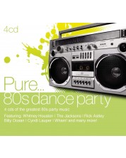 Various Artist- Pure... 80's Dance Party (4 CD)