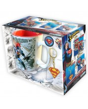 Set cadou - ABYstyle DC Comics: Superman - Man of Steel
