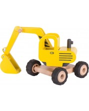 Jucarie pentru copii excavator Goki, galben -1