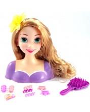 Papusa Just Play - Fa-i coafura lui Rapunzel -1