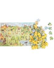 Puzzle pentru copii Moulin Roty - Padurea, 96 piese