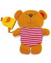 Jucarie de baie pentru copii - Ursulet si rata -1