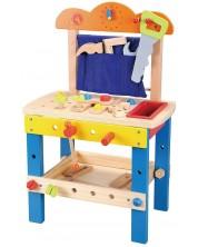 Atelier din lemn Lelin  - set de joaca -1