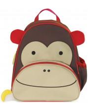 Ghiozdan pentru gradinita Skip Hop Zoo – Maimuta Marshall -1