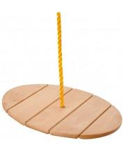 Leagan din lemn pentru copii Woody - Maimutica -1
