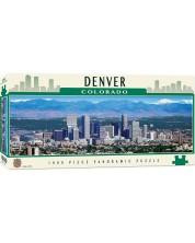 Puzzle panoramic Master Pieces de 1000 piese - Denver, Colorado