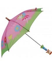 Umbrela pentru copii Pino - Zana, maner verde