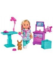 Set pentru copii Simba Toys Evi Love - Doctor Evi in cabinet -1