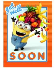 Felicitare Danilo - Despicable Me: Minion Get Well -1