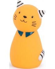 Lampa de noapte pentru copii Moulin Roty Les Moustaches - Pisica Lulu -1