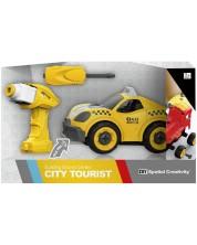 Masina de asamblat cu surubelnita, pentru copii Force Link - Taxi