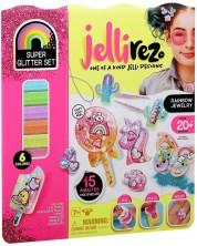 Set creativ de bijuterii pentru copii JelliRez - Rainbow -1
