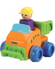 Jucarie pentru copii Tomy Toomies - Tractor, Push & Go Truck -1