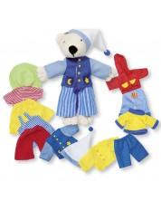 Jucarie pentru copii  Goki - Ursulet moale de imbracat