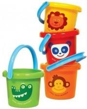 Galetusa din plastic pentru copii Bigjigs - Sortiment -1