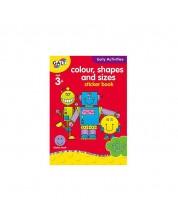 Carte pentru copii Galt Early Activities - Culori, forme si dimensiuni -1