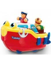 Jucarie pentru copii WOW Toys - Barcuta de salvare cu catel -1