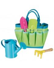 Jucarie pentru copii Goki - Geanta cu instrumente de gradina -1