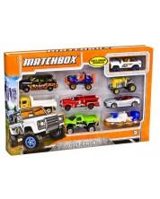 Set pentru copii  Mattel Matchbox -9 masinute, sortiment -1