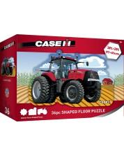 Puzzle de podea pentru copii Master Pieces de 36 XXL piese - Red tractor