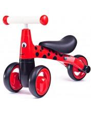 Bicicleta de balans pentru copii Bigjigs - Diditrike, , rosie -1