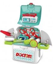 Jucarie pentru copii Ocie - Unchiul doctor in rucsac 2 in 1 -1