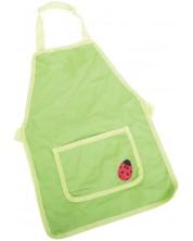 Sort de gradinarit pentru copii Bigjigs - Verde, cu gargarita -1