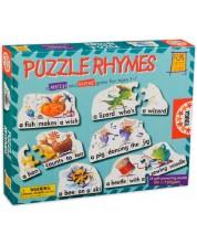 Joc de cuvinte Educa - Puzzle Rhymes