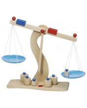 Jucarie din lemn pentru copii Goki - Balanta -1