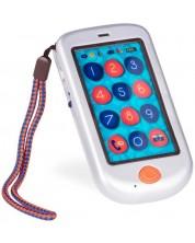 Jucarie pentru copii Battat - Telefon smart, alb perlat -1