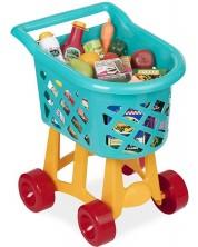 Set pentru copii Battat - Carucior de cumparaturi cu produse -1