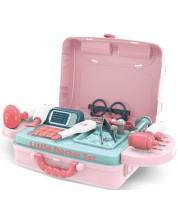 Set de joaca pentru copii Buba - Little Doctor, albastru-roz