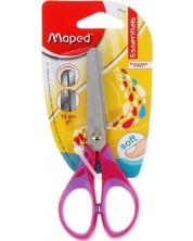Foarfeca pentru copii  Maped Essentials - Kids, roza, 13 cm