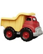Jucarie pentru copii Green Toys - Autobasculanta, rosu cu galben -1