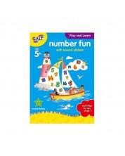 Carte pentru copii Galt Early Activities - Cifrele -1