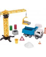 Set pentru copii Battat Driven - Macara de constructii -1