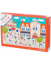 Puzzle pentru copii Moulin Roty - Playtime, 150 piese