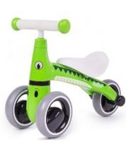 Bicicleta de balans pentru copii Bigjigs - Diditrike, verde -1
