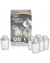 Dozator pentru lapte praf Tommee Tippee - Closer to Nature, 6 buc -1
